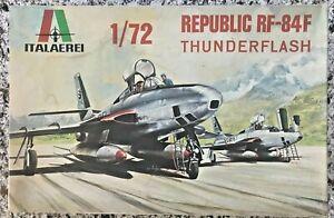 REPUBLIC RF-84F THUNDERFLASH - ITALERI 1/72 PLASTIC MODEL KIT