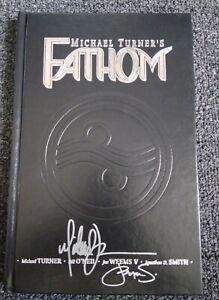 RARE FATHOM HC VOLUME 1 IMAGE COMICS EDITION SIGNED MICHAEL TURNER & STEIGERWALD