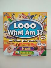 LOGO What Am I? Family Board Game Guess it, Draw it, Describe it. Drumond Park
