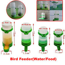 Automatic Bird Cage Food Water Feeder Plastic Bottle Pet Drinker Parrot Pigeon