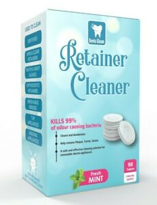 Retainer Cleaning Tablets - 3 Months 96 Tablets- keeps retainer brite & clean
