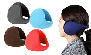 Ear Muffs Winter Ear warmers Fleece Earwarmer Mens Womens Behind the Head Band