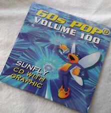SF100 Sunfly Karaoke cdg disc, 60's Pop 6 ,see Description 15 trks/arts