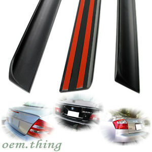 Unpainted For Audi A8 4E Trunk Lip Spoiler Wing 2008 S-Type