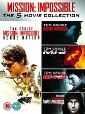 Mission Impossible The 5 Movie Collection DVD PAL Region 2 New Sealed