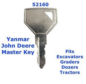 52160 YANMAR JOHN DEERE Master Plant Excavator Digger Dumper Tractor Key