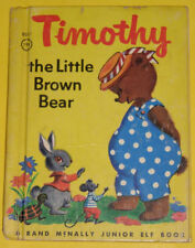 Timothy the Little Brown Bear -Junior Elf book 1949 Great Illustrations Nice See