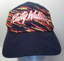 Striped Rusty Wallace Ford Racing Nascar Snapback Hat Cap #2 - RARE