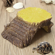 Pet Rock Turtle Snake Spider Reptile Resin Island Shelter Hide Refuge House Cave