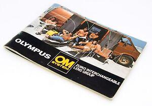 Olympus OM System Zuiko Interchangeable Lens Group Manual, UK Dealer