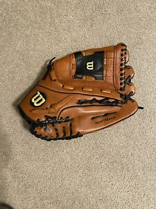 Wilson A700 13.5 Inch All Leather Softball Glove! New! Patent In USA. Right Hand