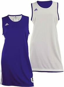 Adidas Women's Reversible Basketball Practice Jersey, Color Options