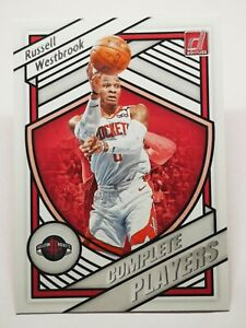 Panini Donruss 2020-21 N3 card NBA Complete Players Russell Westbrook #15