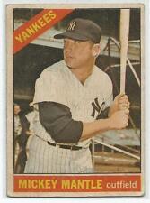 1966 Venezuelan Topps # 50 MICKEY MANTLE  New York Yankees HOF