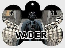 Personalized STAR WARS DARTH VADER PET ID TAG Custom Any Name Printed on 2 Sides