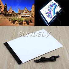 A4 LED Stencil Board Light Box Artist Thin Art Draw Tracing Light box Copy Plate