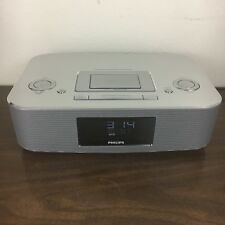Phillips DC290/37 Ipod Dock Station Radio Alarm Clock Stereo *working*