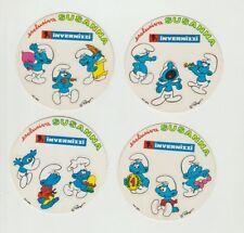 Lotto x4 Adesivo PUFFI Susanna Invernizzi sticker Anni 80 [s23]