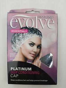 FIRSTLINE Evolve Platinum Deep Conditioning Cap ~  Prevents Hair Breakage