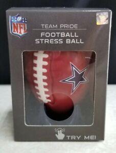 NFL Dallas Cowboys Mini Football Team Stress Ball with Display Tee