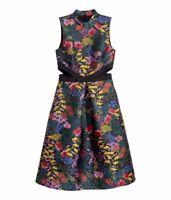 ERDEM x H&M JACQUARD PATTERNED DRESS Size EU 38 / US 8