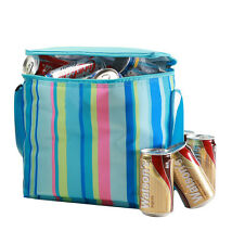 Insulated Cooler lunch Bag | 10L / 12 can capacity | incl. ice brick | Blue