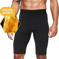 Men's Hot Sweat Sauna Pants Slimming Slimmer Shorts Thigh Shaper for Weight Loss