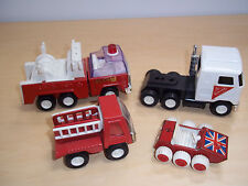 Lot of 4 Vintage Buddy L Die Cast Cars and Trucks  -  Made in Japan