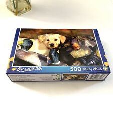 Puzzlebug Puzzle 500 Pieces New Sealed Labrador Puppy Playing In Duck Decoys