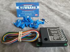 DFSK Single 7 Pin Electric Towbar Wiring Kit including bypass relay