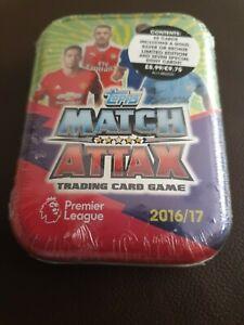 Topps Match Attax Premier League 2016/2017 season cards & Mini Tin.