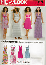 From UK Sewing Pattern Lady's Dress 8-18 US #6122