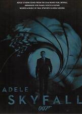 Gesang + Klavier Noten :  Skyfall ADELE  Piano / Vocal / Guitar   mittelschwer