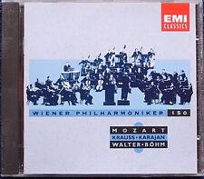 WIENER PHILHARMONIKER 150 Karajan Böhm Walter Krauss CD MOZART Symphony No.41