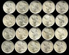 1 Roll__1924-P Peace Silver Dollars__BU/UNC__#1958LJ03
