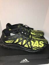 the best attitude f5984 c3f74 adidas Vigor Bounce M Black Yellow BB8380 Athletic Running Mens Size 13 WOB