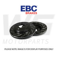 EBC 281mm Standard Turbo Grooved Front Discs for VOLKSWAGEN Golf Mk4 2.0 98-2003