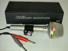 Realistic Condenser Microphone Dual Pattern Stereo Mic. #33-919 in Box