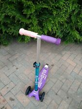 Maxi Micro Scooter Deluxe purple 3 wheels age 5-12 years
