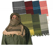 NEW Military Army Arab Shemagh Tactical Desert Keffiyeh Scarf 100% Cotton