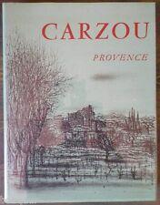 André VERDET - CARZOU - Provence - André Sauret 1966 Lithographies originales