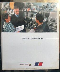 Detroit Diesel 16V 2000 M60, M70, M90, M91 Engines Off-Highway Service Manual
