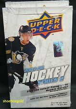 2007-08 UPPER DECK NHL HOCKEY #2 Factory-Sealed HOBBY Box, TOEWS RASK RCs