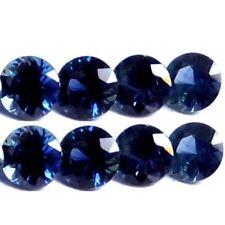 Excellent Cut Round Blue Loose Sapphires