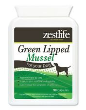 Zestlife Green Lipped Mussel for Dogs 90 capsules for joints, cartilage, tendons