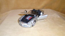 1/24 SCALE  DIE CAST MOTOR MAX MERCEDES BENZ SLR MCLAREN COUPE 2 DOOR SILVER