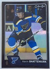 2016-17 KEVIN SHATTENKIRK O-PEE-CHEE BLACK BORDER #407 BLUES #091/100