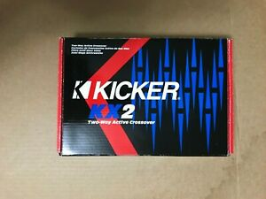 Kicker KX2  2-channel Electronic Crossover