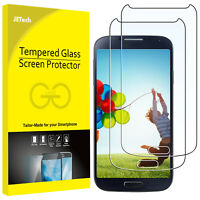 JETech Screen Protector for Samsung Galaxy S4 Tempered Glass Film 2-Pack