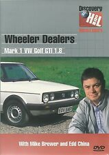 WHEELER DEALERS MARK 1 GOLF GTI 1.8 DVD WITH MIKE BREWER AND EDD CHINA